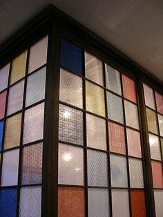 コーナー和室の彩り障子 …
