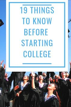 Read all about the things to know before starting your journey at college. Tips … Read all about the things to know before starting your journey at college. Tips on how to prepare for the transition to college. College Life Hacks, College Costs, Saving For College, College Classes, Scholarships For College, College Fun, College Tips, College Savings, Online College