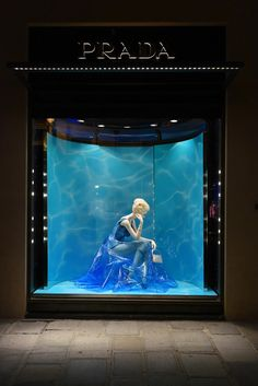 "PRADA, Paris, France, ""The Perfect Water"", The Iconoclasts by Milena Canonera, pinned by Ton van der Veer"