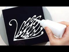 Acrylic Painting Techniques, Fluid Acrylics, Plastic Wrap, Magnolias, Acrylic Pouring, Art Tutorials, Swan, Flow, Balloons