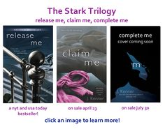 Stark Trilogy by J. Kenner erotic romance