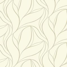 Aubrey Wallpaper in Off White by Ronald Redding for York Wallcoverings | BURKE DECOR