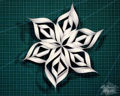 diy-3d-paperiset-lumihiutaleet Christmas Star, Christmas Crafts, 3d Snowflakes, Xmas Decorations, Origami, Lifestyle, Holiday, Flowers, Cut Outs