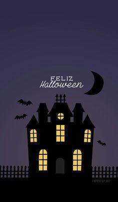 Imagen de Halloween, house, and night