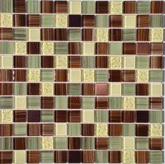 Peel & Stick Glass Mosaic Tile Amazon | Mineral Tiles