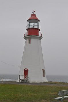 Pointe Riche Lighthouse	Port aux Choix		Newfoundland and Labrador	Canada	50.697422,-57.4096   by Sparechange63, via Flickr