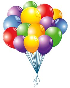 Balloons Clipart Image