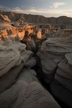 Toadstool geologic park. Nebraska