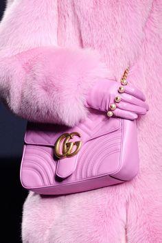 Gucci at Milan Fall 2016 (Details) Gucci Fur Coat, Pink Fur Coat, 8f557e8e16d
