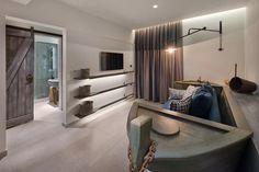 Crystal Clear Water, Pebble Beach, Room Themes, Rhodes, Second Floor, Greece, Flooring, Website, Living Room