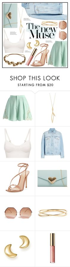 """Sweet Baby"" by piloariass ❤ liked on Polyvore featuring Chicwish, La Perla, Alexander McQueen, Gianvito Rossi, KoKo Couture, Forever 21, Nadri, Bloomingdale's, tarte and Jennifer Behr"