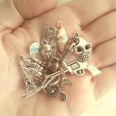 A handful of new charms I'll be adding to the shop soon!