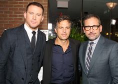 Channing Tatum, Mark Ruffalo and Steve Carell brought a boatload of talent to a Sony event.