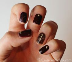 One Nail To Rule Them All: Tutorial Tuesday: Tortoise Shell Nails by xameliax...