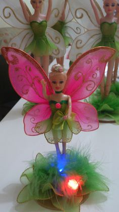 Marry Meias de Seda: Fadas com luzes de Led para Festas infantis