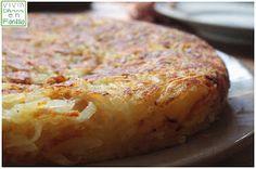 -Hervir 6 patatas -2 cucharas de cebolla deshidratada -1 cucharita de nuez de moscada -sal -pimienta negra -aceite de oliva Raya la pata...