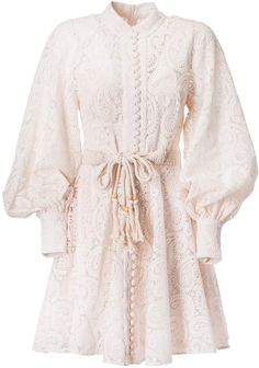 Shop Zimmermann Amari Paisley Lace Short Dress and save up to EXPRESS international shipping! Kpop Fashion Outfits, Modest Fashion, Hijab Fashion, Korean Fashion, Fashion Dresses, Womens Fashion, Short Lace Dress, Short Dresses, Influencer