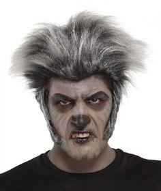 Grey Wolfman Wig