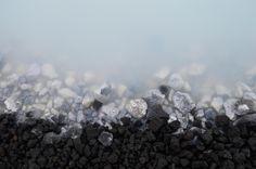 Rocks by Blue Lagoon Iceland [OC] [6016x4000]