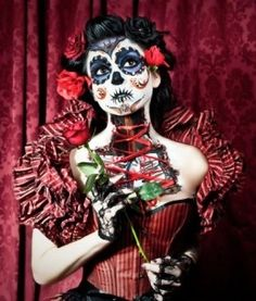 18.) People celebrate Dia De Los Muertos to honor their deceased loved ones.