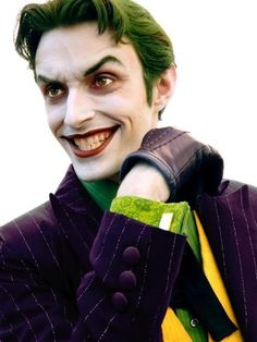 """""""Anthony Misiano as the Joker. That is how you cosplay."""" - Dear sir, how is your face the way that it is? <3  Brilliant."""