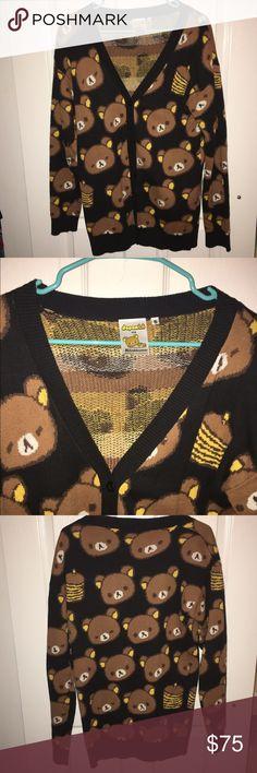 Rilakkuma Sweater Japan LA Rilakkuma sweater. Worn a few times, washed once. No stains, rips, or damage. Size S. Definitely a longer sweater. Japan LA  Sweaters Cardigans