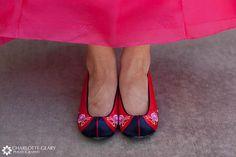 hanbok shoes, for a Korean wedding