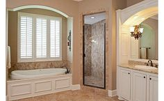 These colors just work- master bath