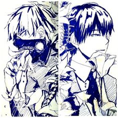 B5 Postcard - Featuring Kaneki B&W Anime: Tokyo Ghoul Please leave note if you want signature! White kaneki only 2 available at the moment so hurry!