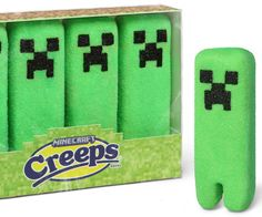 Minecraft Marshmallow Creeps | DudeIWantThat.