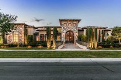 Tuscan style in Las Vegas, Nevada