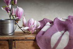 Lucia Lapone textile designer: di fiori e di colori Shibori