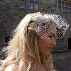 Victoria lace headband