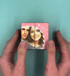 Diy Birthday Gifts Discover Best christmas gift ideas 2019 Cube of Love Turning you photos and memories into an amazing gift Diy Best Friend Gifts, Personalised Gifts For Friends, Bf Gifts, Birthday Gifts For Best Friend, Birthday Gifts For Boyfriend, Birthday Surprise Ideas For Best Friend, Best Friend Gifs, Cute Gifts For Girlfriend, Cute Gifts For Friends