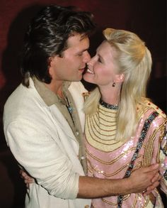 When they were young Patrick Swayze Wife, Famous Pairs, Lisa Niemi, Patrick Wayne, Wife Pics, Dirty Dancing, People Magazine, Celebs, Celebrities