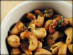 Clean Eating Recipe Box: Rosemary Cashews