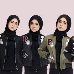 [ MEGA CLEARANCE SALE ]  _ BOMBER JACKET  Normal Price : RM109 Promo Price : RM69 / 2 for RM100  Available size : S,M,L and XL  _ Online purchase +6014 544 9778 #HijabistaHubBomberJacket #HijabistaHub2forRM100  #Regram via @hijabista.hub