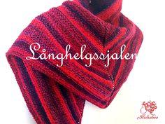 Gratis mönster: Långhelgssjalen. En snabbstickad sjal som är en bra nybörjarsjal, men även en skön avkoppling för den vana stickaren.