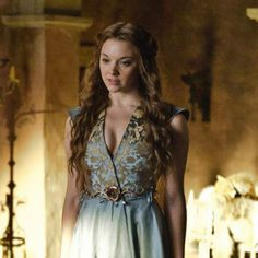 Margaery Tyrell (Natalie Dormer) - Wouldn't mind a time period where I could dress like this either.