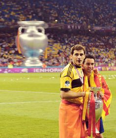 LEGENDS! #EURO2012 #FCB #Barca #FCBarcelona #Spain Euro 2012