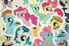 My Little Pony: Friendship is Magic Stickers