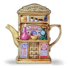 Apothecary teapot