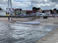 230 tysięcy zapłaci Urząd Morski w Słupsku za remont slipu w zachodniej części usteckiego portu. Remont ma potrwać do końca listopada. #usta24info Street View