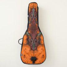 Voodoo Music Spirit Orange Guitar Case