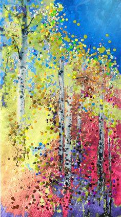 Aspen Light - Summer Shimmer. Energy Artist Julia Watkins ... love her work