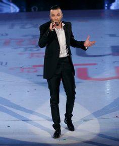 Mattia Briga wearing Carlo Pignatelli total look during the tv program of Amici. #carlopignatelli #mattiabriga #amici