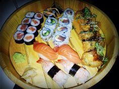Buena degustación japonesa en Restaurante Kyoto ( Santiago de Compostela).