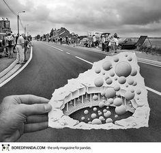 Funny Pencil vs Camera by Ben Heine