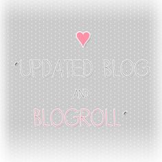 Blog Update & Blogroll <3 | Flickr - Photo Sharing!
