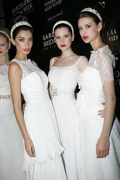 Vestidos de novia de Patricia Avendaño 2014